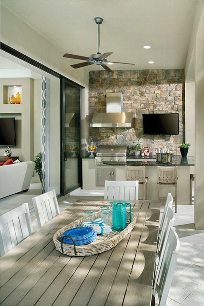 Einrichtungsideen Fur Outdoor Kuche Traumhafte Gartenkuchen Pool Patio Decor Outdoor Kitchen Design Patio Decor