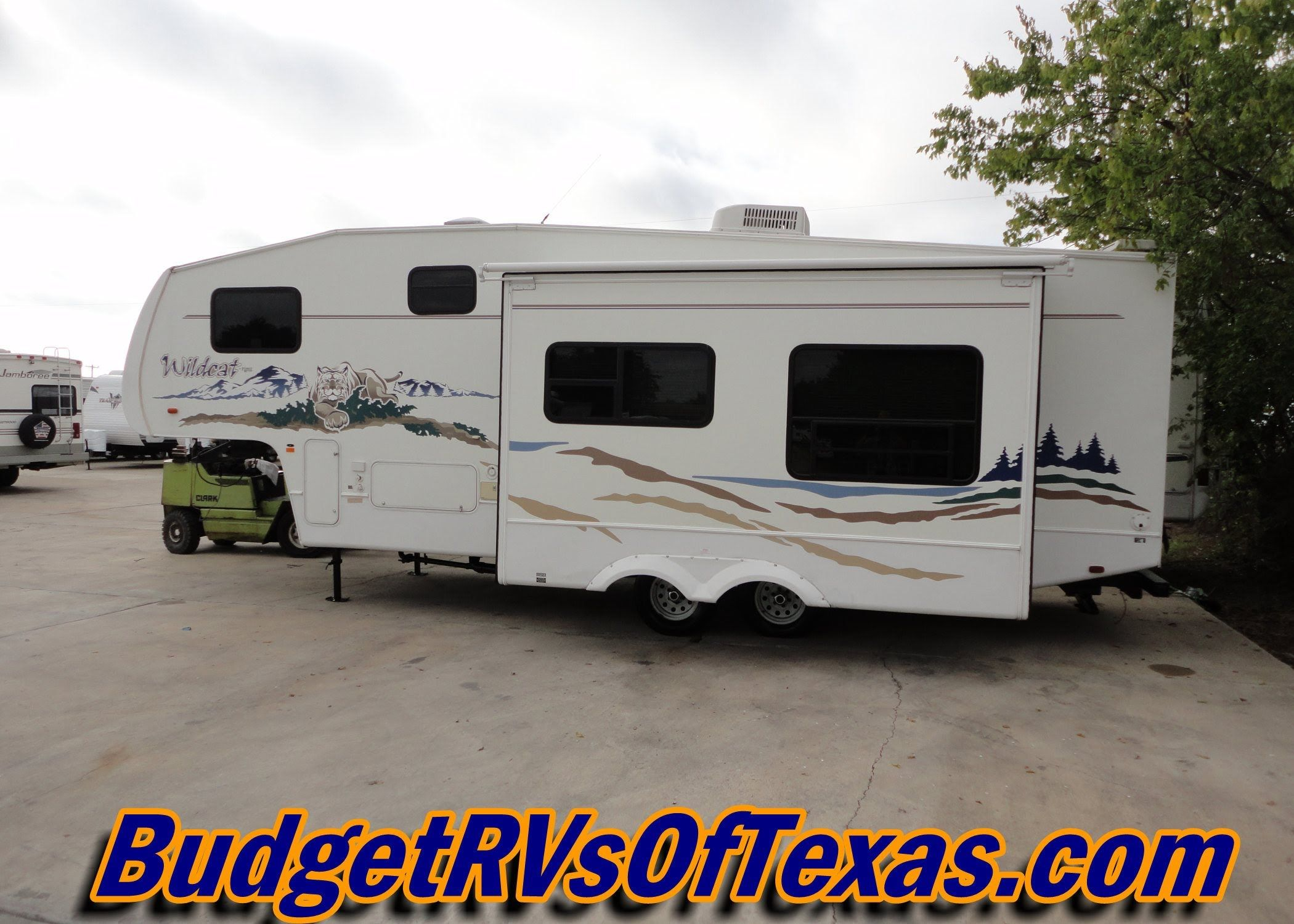 Light Weight 5th Wheel Family Fun 2005 Wildcat 28rkwb Trailers