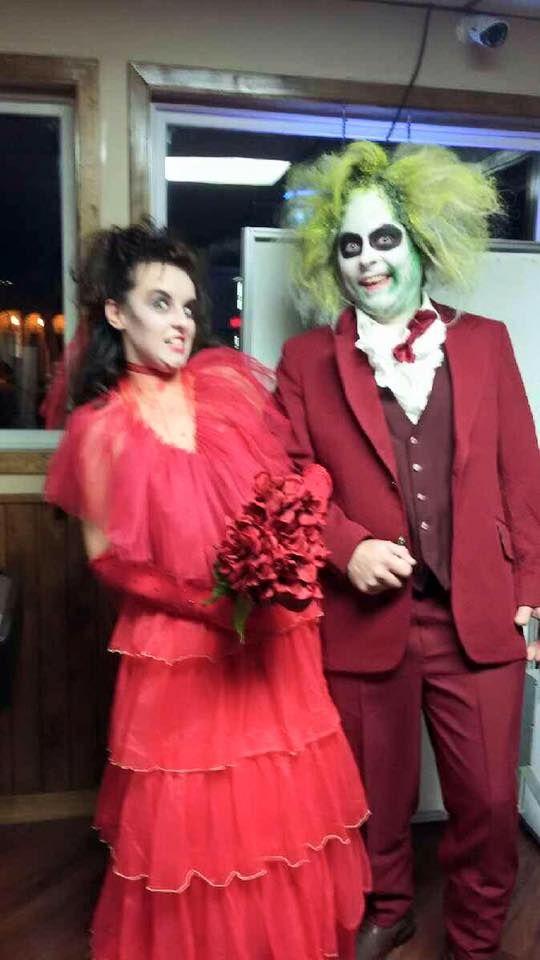 beetlejuice beetlejuice beetlejuice couples halloween costume