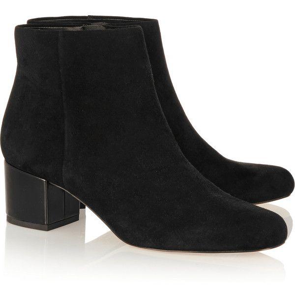 841bdbb26 Sam Edelman Edith suede ankle boots ( 190) via Polyvore featuring shoes