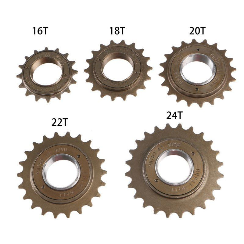 "SINGLE SPEED BICYCLE FREEWHEEL 20T X 1//8/"" STANDARD TYPE BROWN BIKE CYCLING NEW"