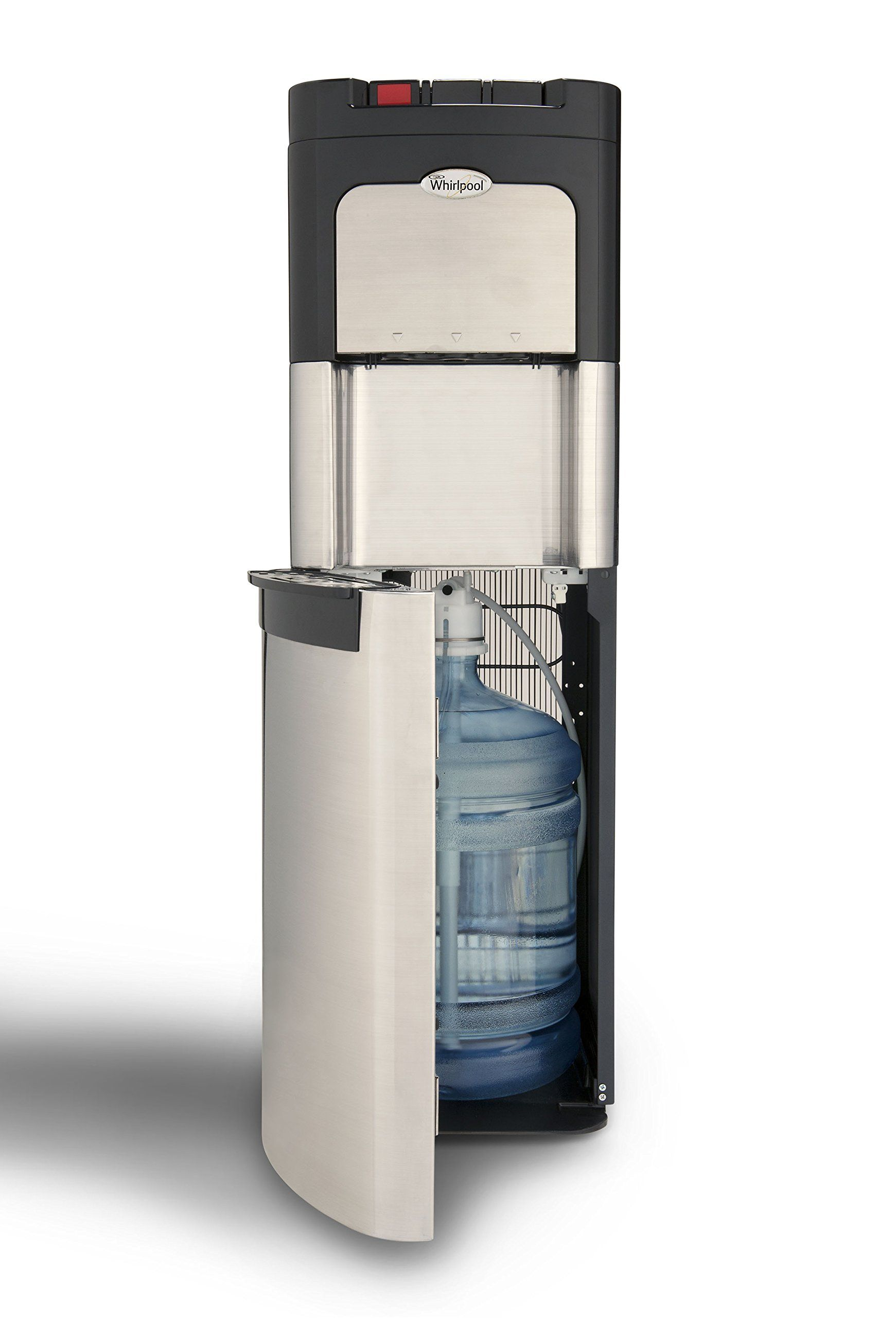 Whirlpool Bottom Loading Commercial Water Cooler Dispenser Ice Chilled Water Steaming Hot Full Stainless Stee Water Coolers Water Dispenser Water Dispensers