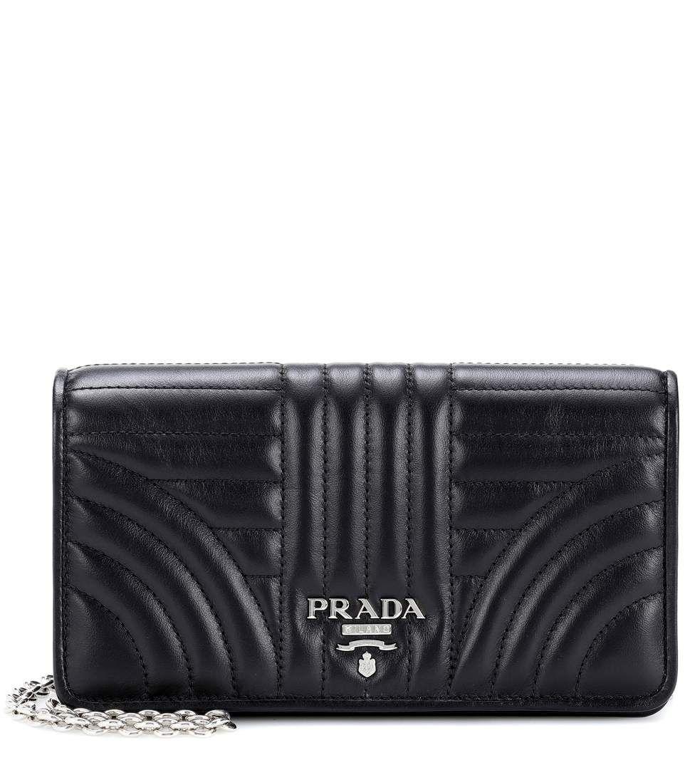 f737a9047e59 PRADA Matelassé leather shoulder bag. #prada #bags #shoulder bags #leather  #knit #lining #