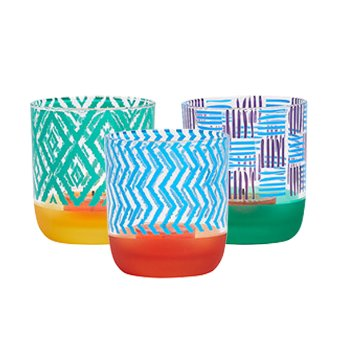 Tribal Chic Tealight Holder Trioitem P93441 Get The Summer S Bold Bright And Global Style With Th In 2020 Glass Tea Light Holders Party Lite Candles Decal Design