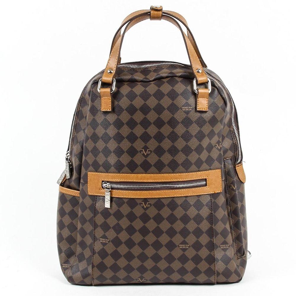 5d0114a716 Versace Leather 19.69 Abbigliamento Sportivo Srl Milano Italia Mens  Backpack Bag  Versace1969AbbigliamentoSportivoSrlMilanoItalia  Backpack