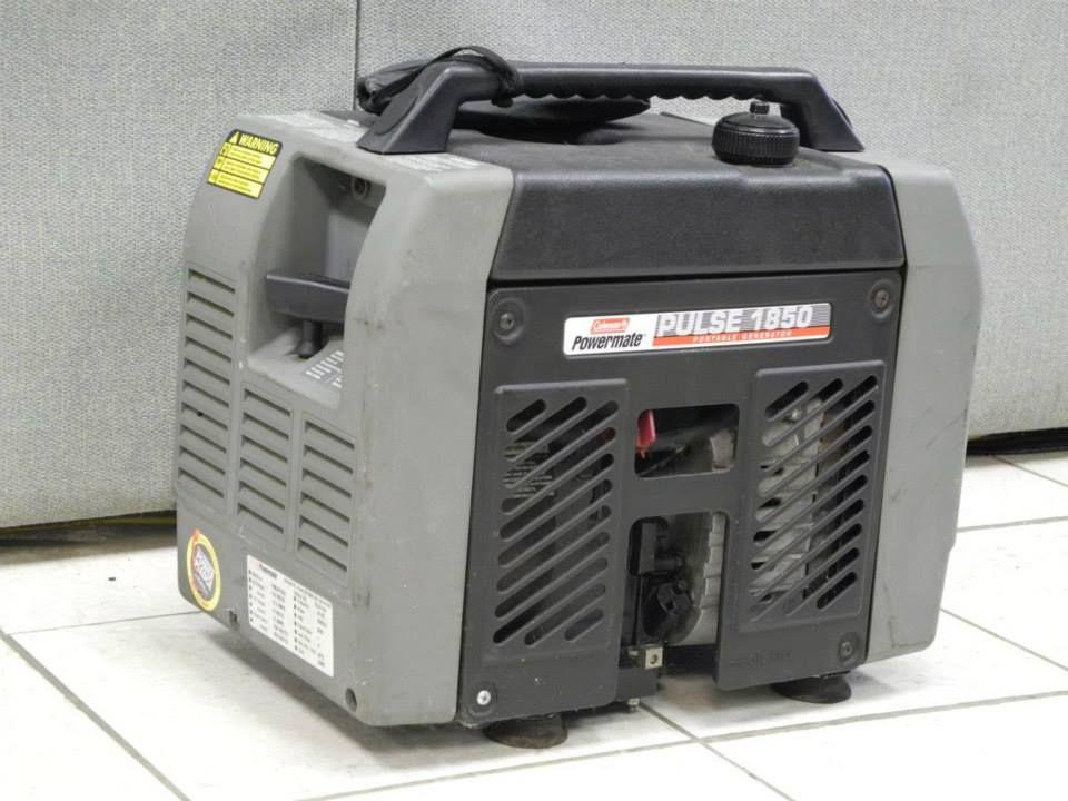 1850 coleman generator - Bd remote control