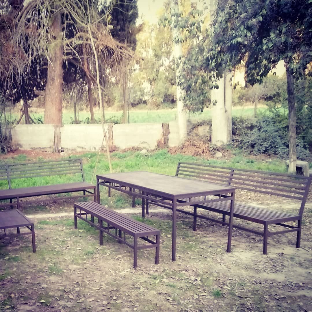 Steel Hechoamano Gasman2019 Furniture Terraza Fierro