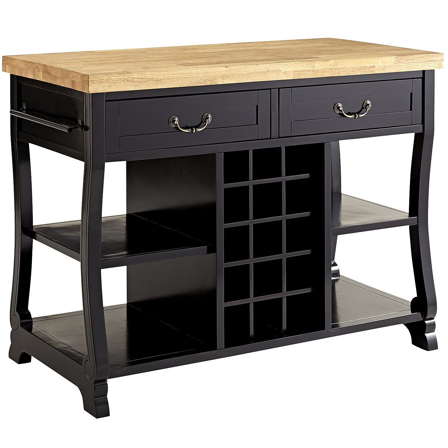 Pier One Kitchen Table Marchella Kitchen Island Rubbed Black Pier 1 Imports