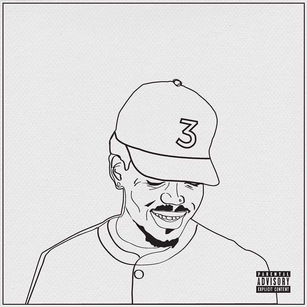 Instagram Photo By Jill Platner Jun 5 2016 At 8 20pm Utc Chance The Rapper Art Coloring Books Coloring Book Chance