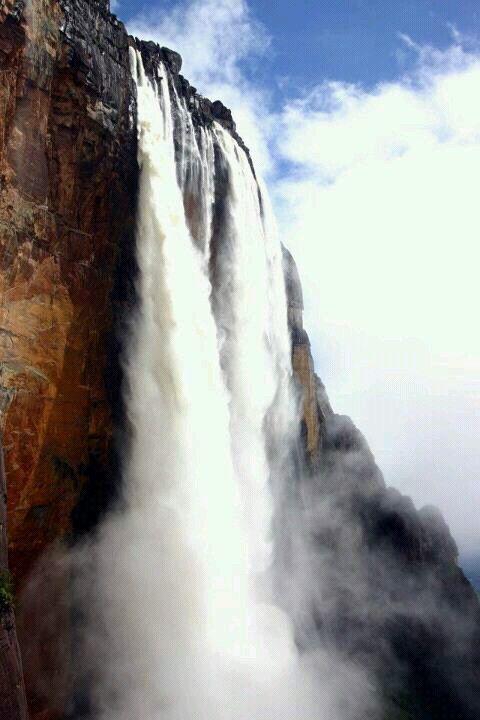 El salto Angel en Venezuela | Beautiful waterfalls ...