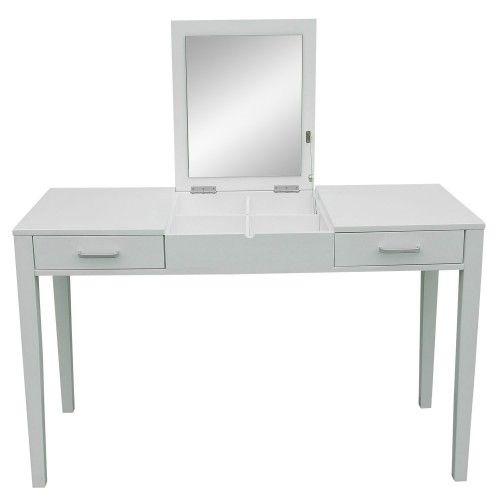 Aufklappbarer Schminktisch Schreibtisch Mit Spiegel Schminktisch