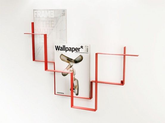 Wall Hanging Magazine Rack wall mounted magazine rack for bathroom | -wall-mounted-magazine