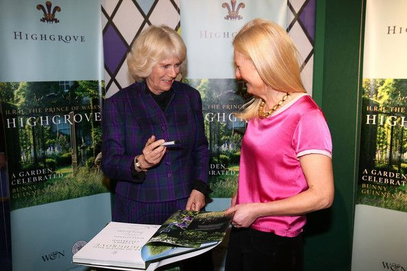 Camilla, Duchess of Cornwall attends an official visit to The London Book Fair at Earls Court in London, UK - 9th April 2014