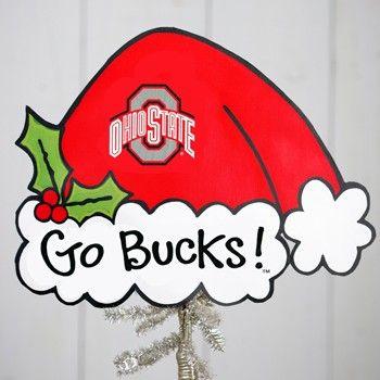 Ohio State Buckeyes Christmas Tree Topper Everything