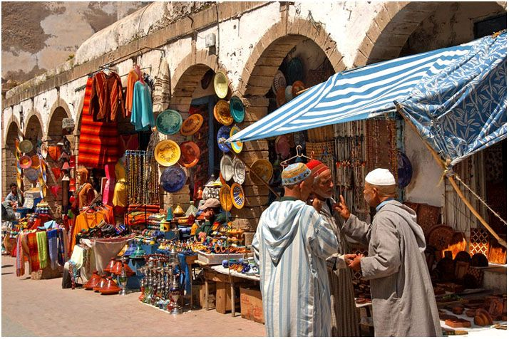Essaouira Market- where we ate chicken livers and sardines, and then were  sick for days after | Morocco market, Morocco tours, Morocco