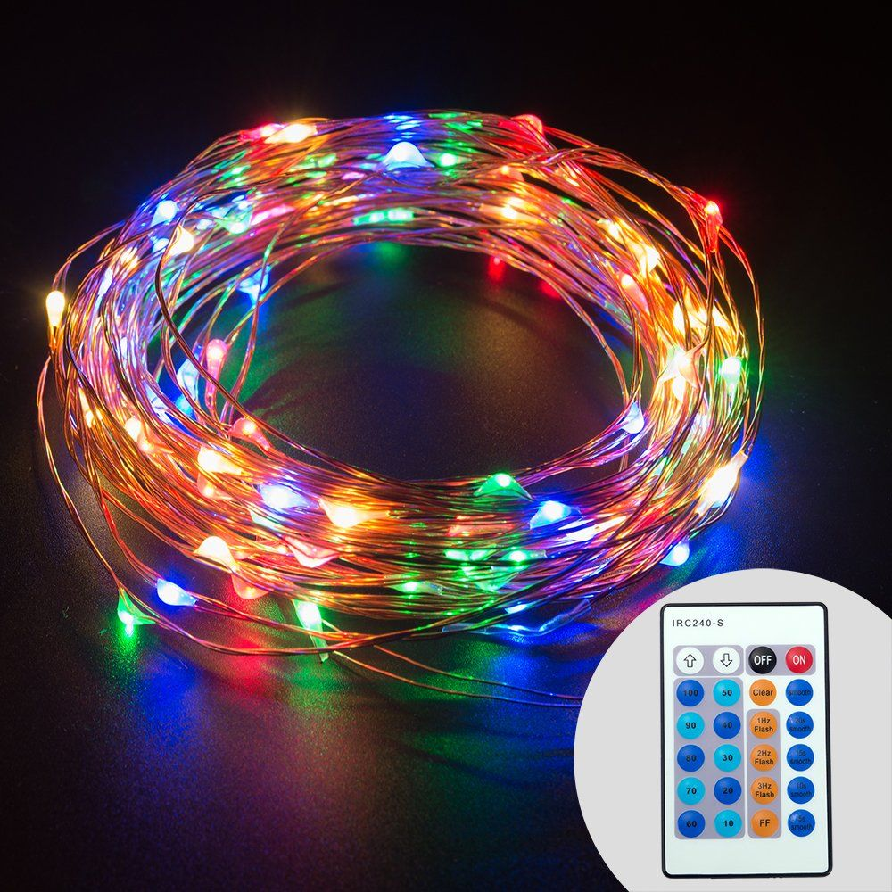 Solar Led String Lights Outdoor Delectable Taotronics Dimmable Color Led String Lights Outdoor Lights Star