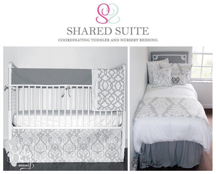 Coordinate Your Home Bedding Nursery With Our Siblingsharedsuite And Nanasnursery Concept