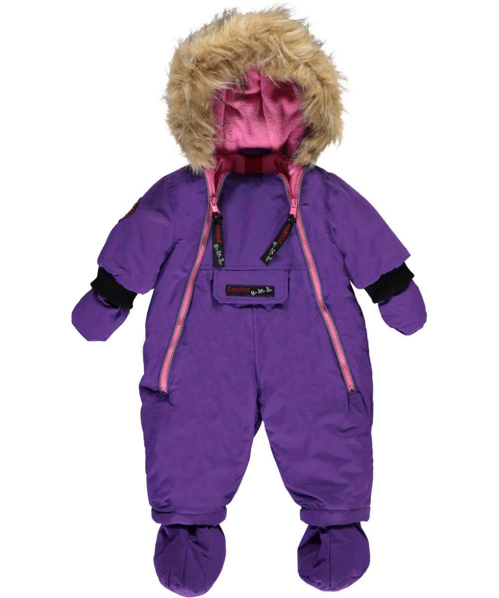 fd6cfda52 Canada Weather Gear Baby Girls