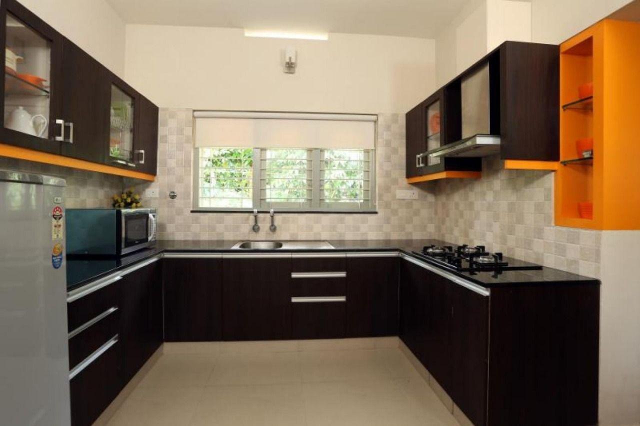 U Shaped Modular Kitchen Interior 7015140121 Kitchendesignkeralastyle Kitchen Design Modern Kitchen Design House Design Kitchen