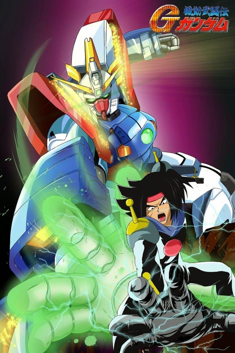 Domon Kasshu And Shining Gundam Anime Mobile Fighter G Gundam Anime Mobile