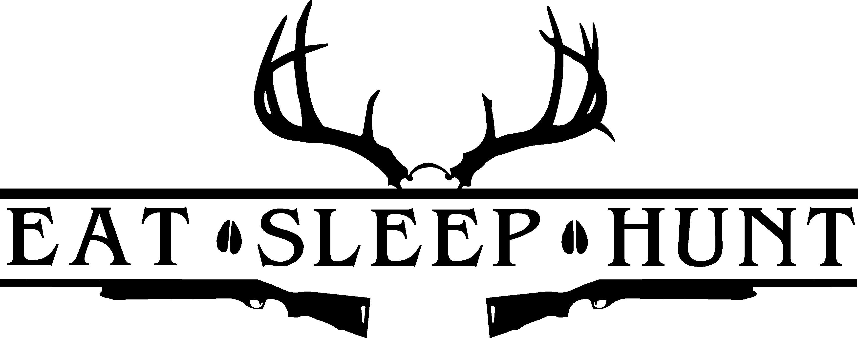 Eat Sleep Hunt Deer Antler Amp Shotguns