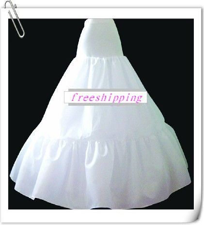 Click to Buy << Hoopless 3 layer petticoat/crinoline/underskirt P130 ...