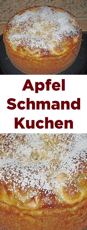 Apfel Schmand Kuchen #tortegeburtstag