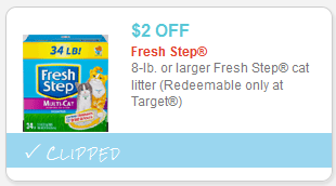 graphic regarding Fresh Step Printable Coupon identify $2 New Move Cat Muddle Coupon (Redeem at Aim) Pet dog