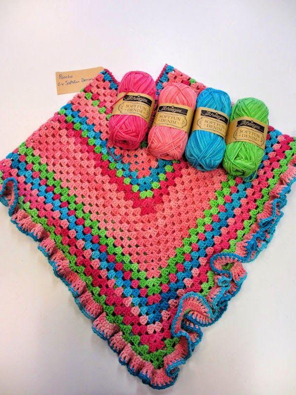 Free Pattern Kinder Poncho Crochet Crochet Crochet Poncho