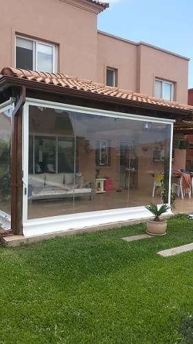 Lona cerramiento pvc cristal transparente toldos - Cerramientos casas ...