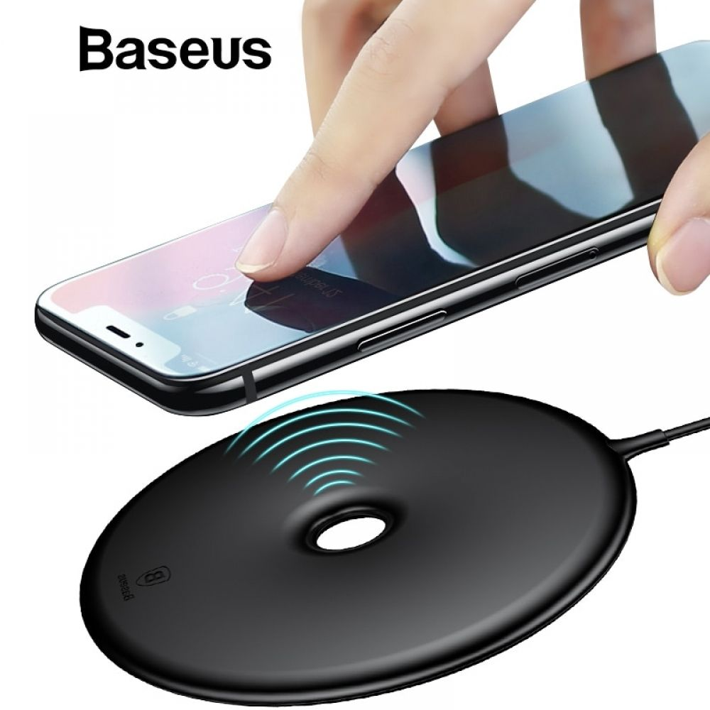 Baseus Qi Wireless Charger Pad For Iphone X Xs Max Xr Samsung Note