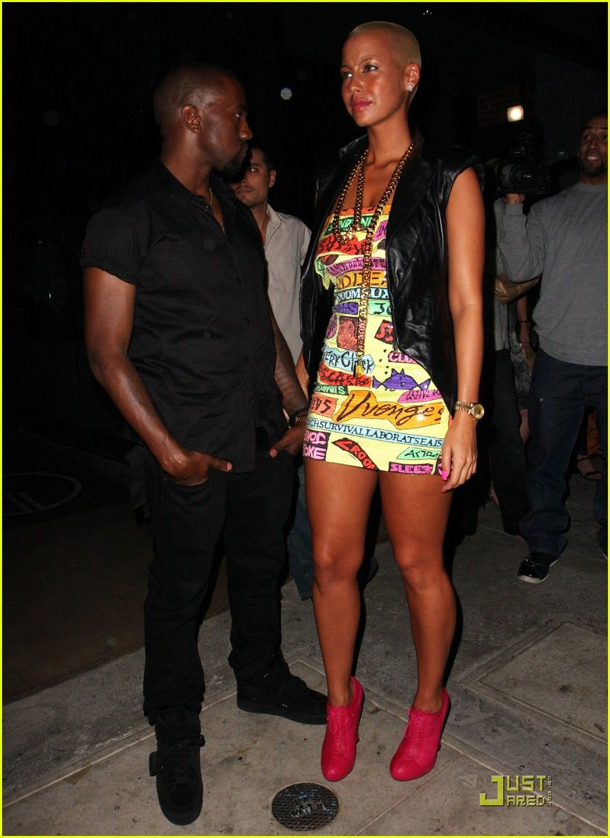 amber rose and kanye west Google Search Fashion, Amber