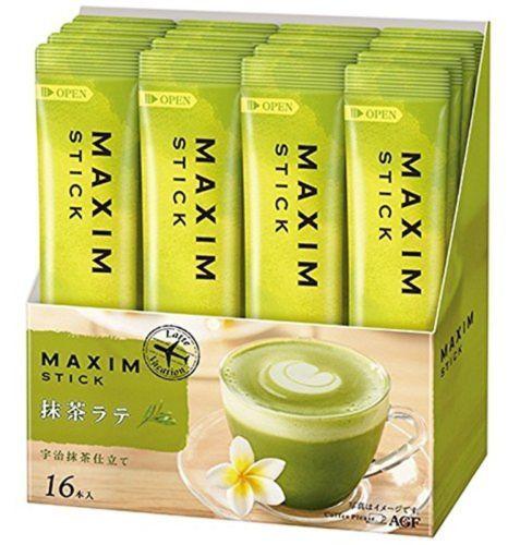 #matcha #health #tea AGF Maxim Matcha Green Tea Flavored