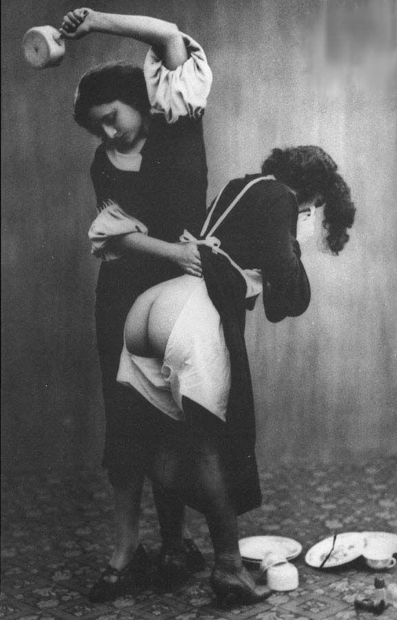 Victorian wife spank