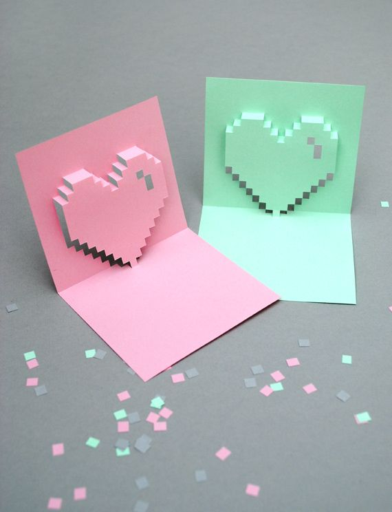 7 Fun Valentine DIY Projects – Pop out Valentines Day Cards