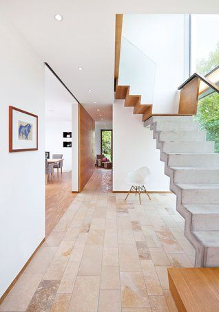 Energieeffizientes Flachdach-Haus Im Bauhaus-Stil | Haus & Bau