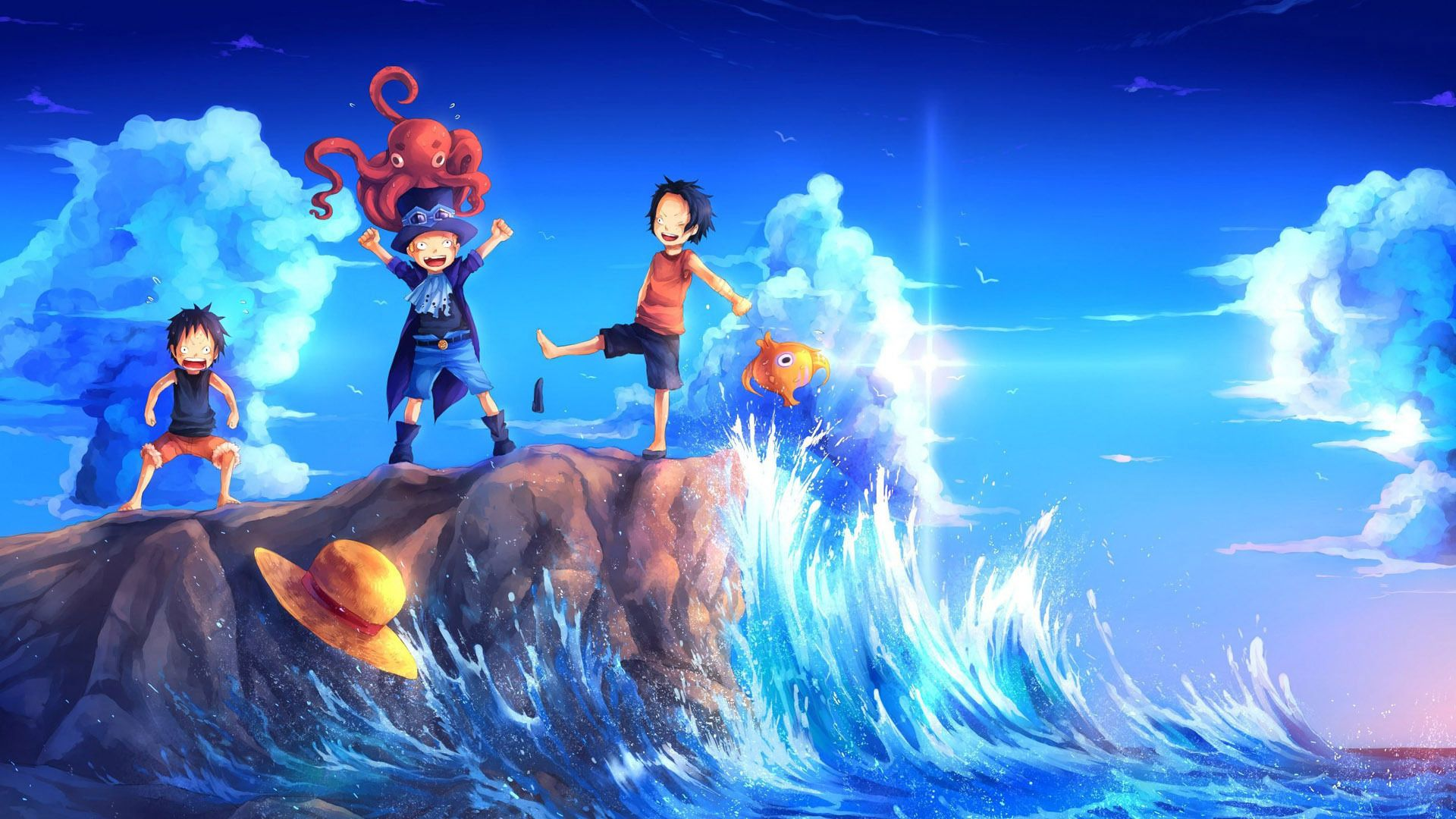 One Piece Wallpapers Widescreen Click Wallpapers One
