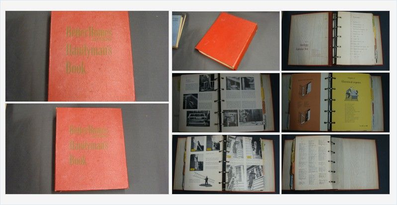 1951 better homes and gardens handyman s book binder books books