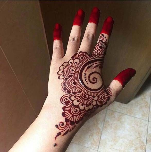 94daef966fc1b ... 15 Simple And Easy Mehndi Tattoo Designs With Pictures: Henna Designs,  Hennas And Mehndi
