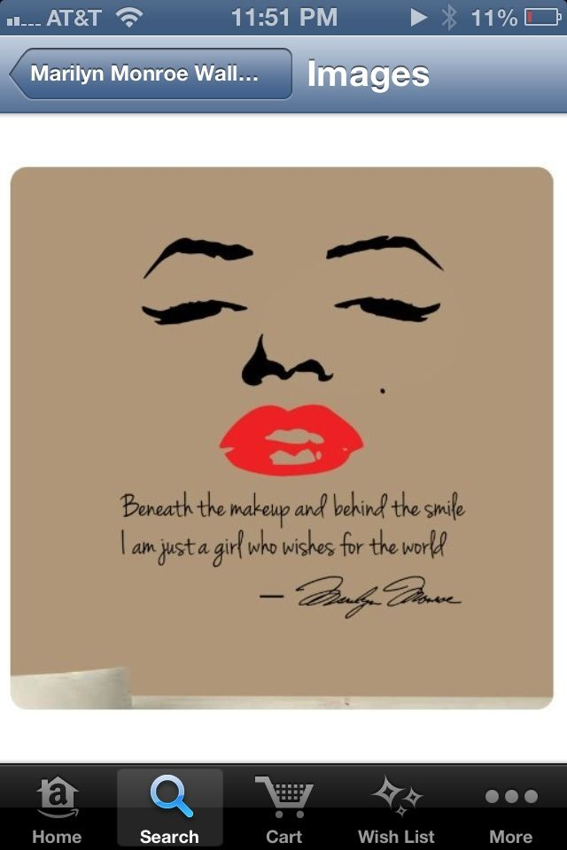 Ms Monroe Love It A Gift For My Friends New Apartment