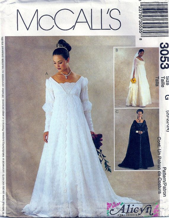 Renaissance Dress Bridal Wedding Gown Sewing by PatternPriority ...