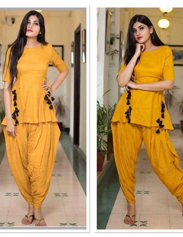 ed3a88e97e Dhoti Salwar Suits, Salwar Kurta, Patiala, Punjabi Suits, Anarkali, Short  Kurti
