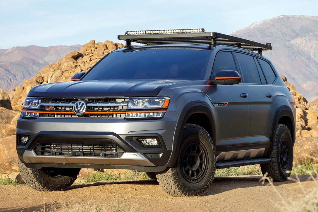 The Volkswagen Atlas Basecamp Is An Awd All Terrain Expedition Vehicle Volkswagen Best Suv Best Compact Suv