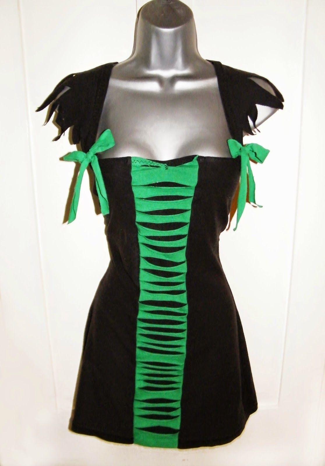 Lola Nova Upcycling: Halloween Costume Refashion: DIY Sexy Witch ...
