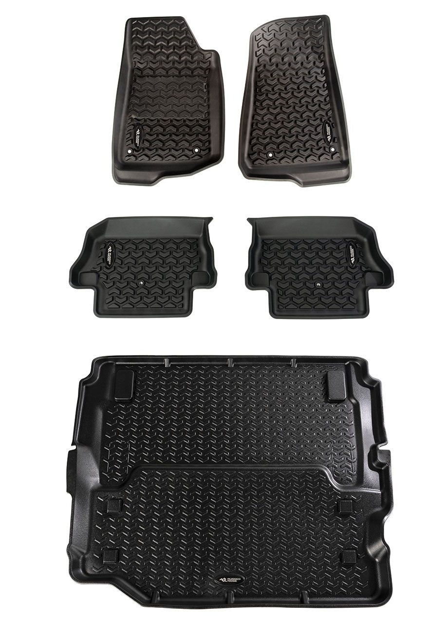 Jeep Wrangler Jl Floor Liners Kit 2 Door Full Cargo 12988 07 With Images Jeep Wrangler Jeep Jeep Jl