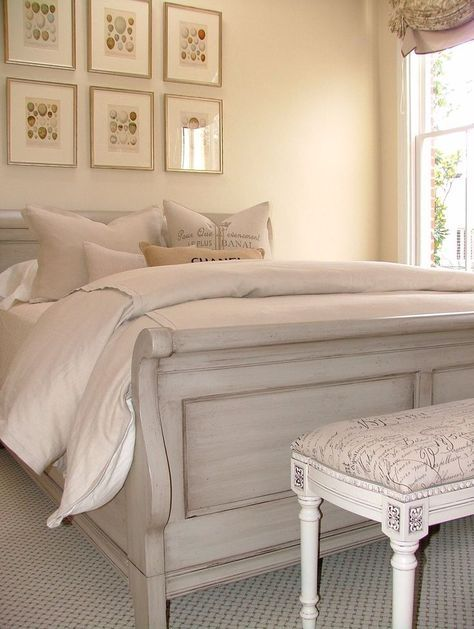 Image result for bed chalk paint grey and blue   Bedroom ...