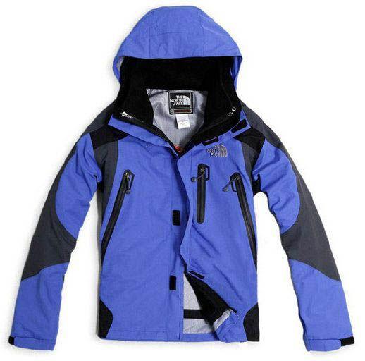 North Face Men's Blue pure Gore-Tex Jacket Outlet