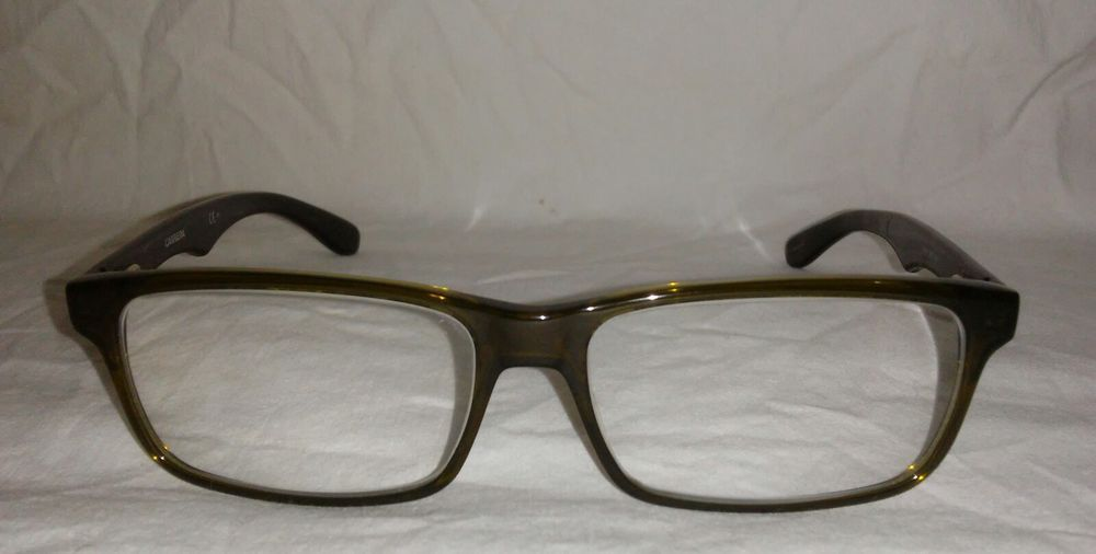 Carrera Eyeglass Frames CA 6605 BED Dark GREEN CLEAR COPPER CLEAR ...