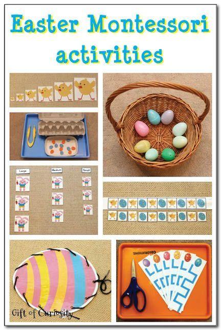 Easter montessori activities montessori pre school and easter check out these great preschool and kindergarten easter montessori learning ideas kbn montessori negle Gallery