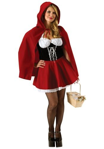 Plus Size Red Riding Hood Costume Red Riding Hood Costume